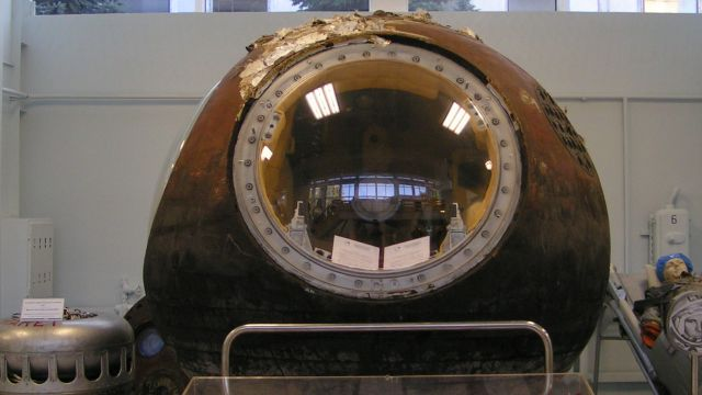 Vostok 1 At The RKK Energiya Museum