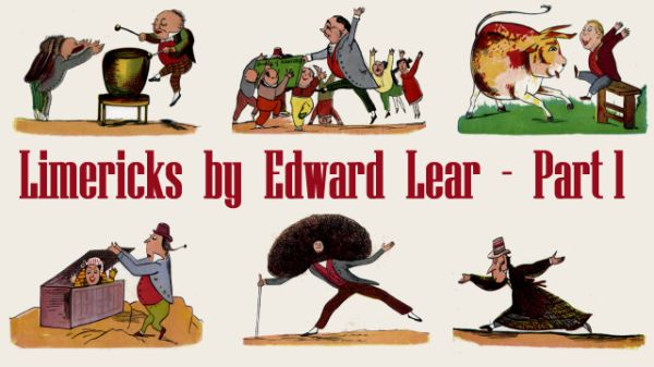 Title Card for Limericks by Edward Lear's - Part 1