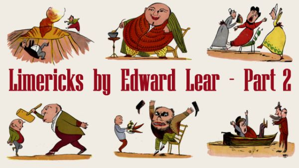 Title Card for Limericks by Edward Lear's - Part 2