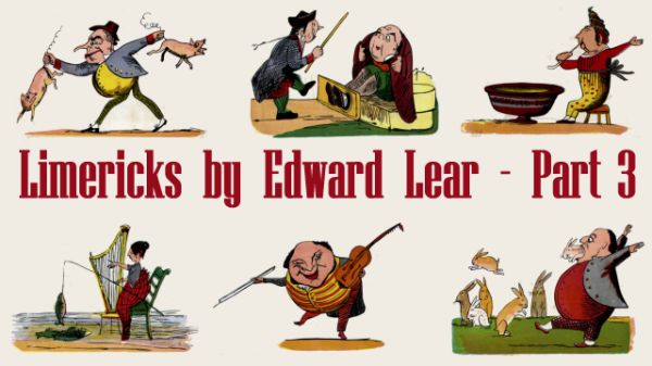 Title Card for Limericks by Edward Lear's - Part 3
