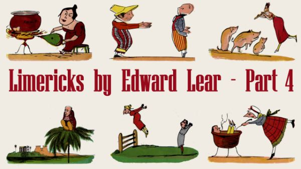 Title Card for Limericks by Edward Lear's - Part 4