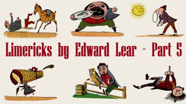 Title Card for Limericks by Edward Lear's - Part 5