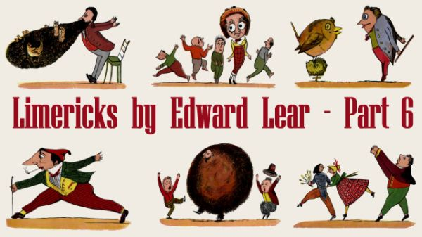 Title Card for Limericks by Edward Lear's - Part 6