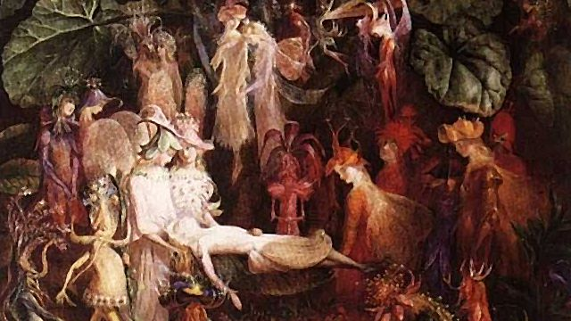 The Fairy's Funeral by John Anster Christian Fitzgerald