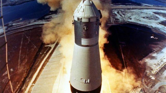 The Launch Of Apollo 11
