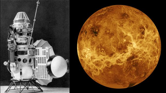 Venera 3 The First Probe To Impact On A Planet