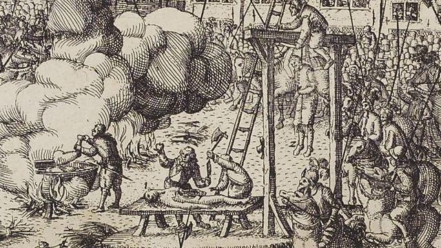 The Conspirators Hung, Drawn And Quartered