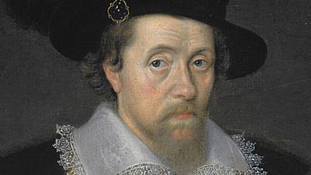 King James I Of England And Ireland