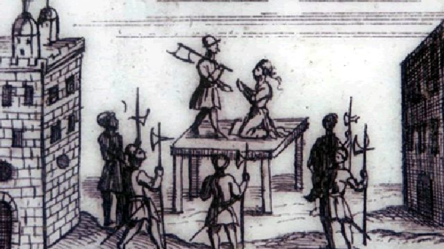 Catherine Is Executed