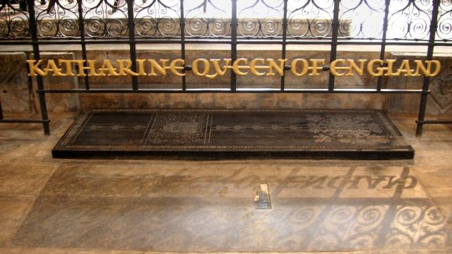 Grave Of Catherine Of Aragon