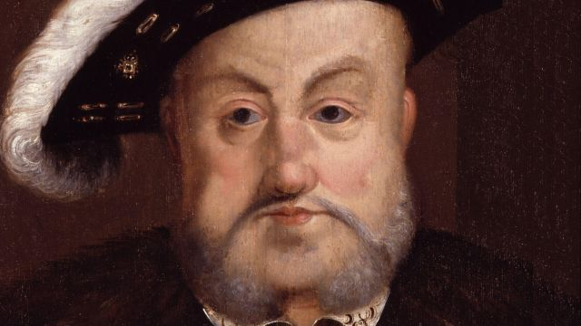 Portrait Of An Elderly Henry VIII