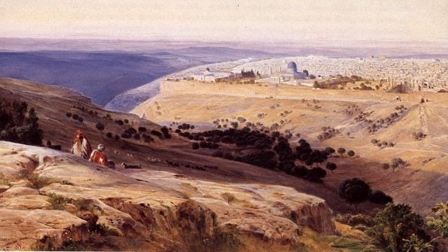 One Of Edward Lear's Landscapes