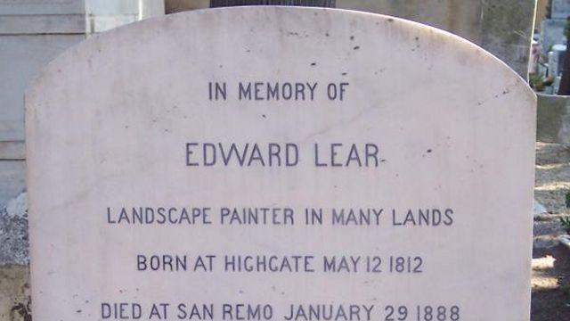Edward Lear's Grave