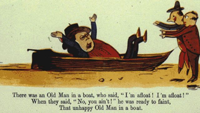 One Of Edward Lear's Limericks