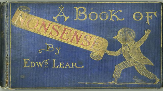 Lear's Book Of Nonsense Published Under His Real Name
