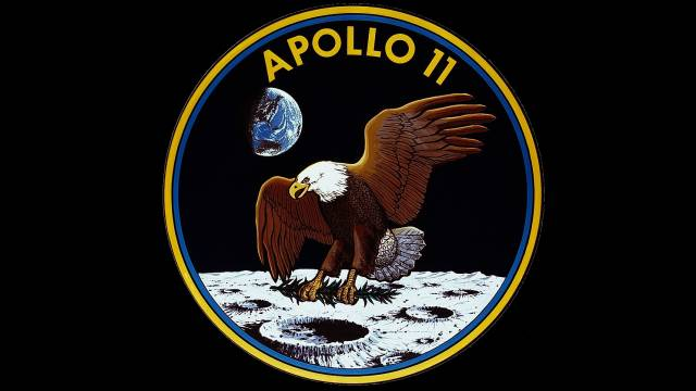 Mission Patch For Apollo 11