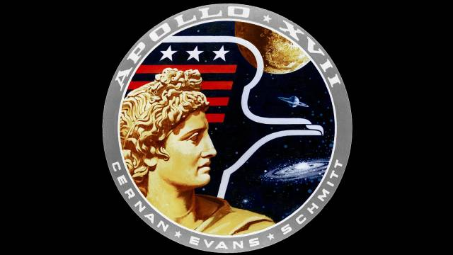 Mission Patch For Apollo 17
