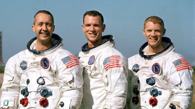 The Crew Of Apollo 9
