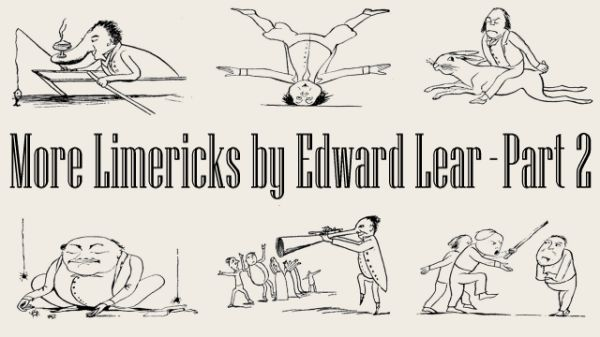 Title Card For More Limericks By Edward Lear - Part 2