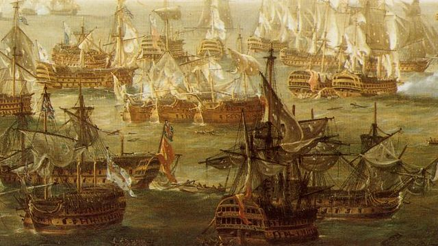 The Battle Of Trafalgar