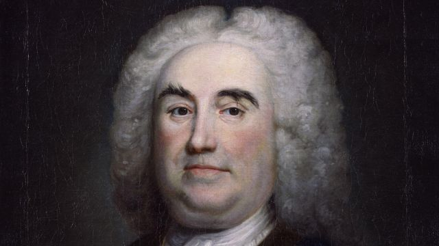 Portrait Of Sir Robert Walpole