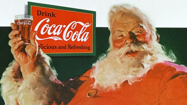 Coca-Cola Christmas Advertisement