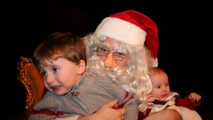 Others Definitely Do Not Enjoy Meeting Santa Claus