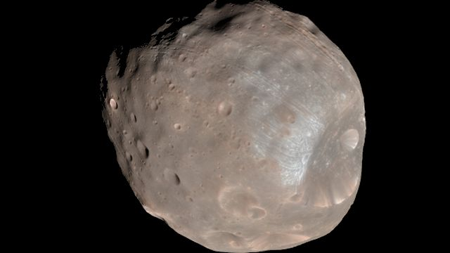 Phobos One Of Mars's Moons