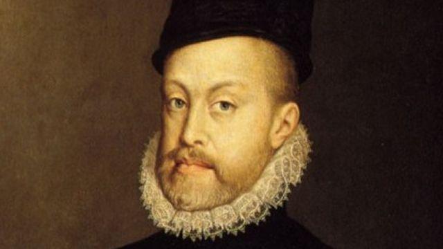 Portrait Of Philip II Of Spain